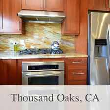 Rental info for FANTASTIC LOCATION AND Best! in the Thousand Oaks area