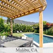 Rental info for Malibu, Great Location, 4 Bedroom Guesthouse. W...
