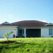 Rental info for $1375.00 a month 3 bedroom and 2 bath. 2 car garage and screened lanai porch. Call today for appointment . SECTION 8 APPROVED AND READY TO MOVE.