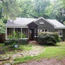 Rental info for 282 North Highland Street in the Memphis area