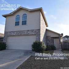 Rental info for 7026 HEATHERS PL in the San Antonio area