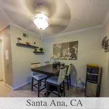 Rental info for THIS RARE UPSTAIRS BEAUTY IS COMING AVAILABLE S... in the Santa Ana area