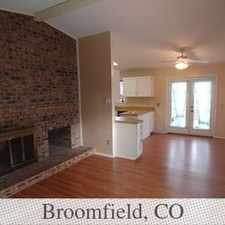 Rental info for This Great Home Is Currently Being Cleaned Up. in the Broomfield area