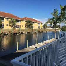 Rental info for Gulf Access, Canal Front Condominium in the Cape Coral area