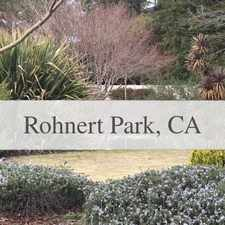 Rental info for Rohnert Park, Great Location, 2 Bedroom Townhouse.