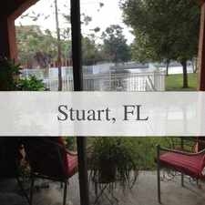 Rental info for Pet Friendly 3+2 House In Stuart in the Palm City area