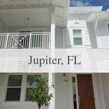 Rental info for Wonderful Townhouse In Mallory Creek. Will Cons... in the Jupiter area
