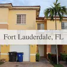 Rental info for HUGE FAMILY TOWNHOUSE. Parking Available! in the Fort Lauderdale area