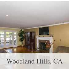 Rental info for Woodland Hills, 5 Bed, 4 Bath For Rent in the Los Angeles area