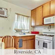 Rental info for Charming Studio, 1 Bath. Carport Parking! in the Riverside area