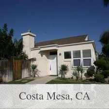 Rental info for Costa Mesa - REDUCED Detached Single Story Home... in the Costa Mesa area