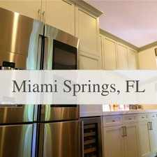 Rental info for House, Miami Springs - Come And See This One. W... in the Hialeah area