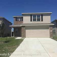 Rental info for 9507 ALEX SPRINGS LN in the Houston area