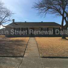 Rental info for HOME IS AVAILABLE FOR IMMEDIATE MOVE IN in the Dallas area