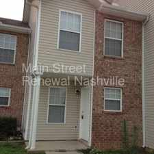 Rental info for We are sharing the love! Get your application fees waived with promo code CELEBRATE! in the Nashville-Davidson area