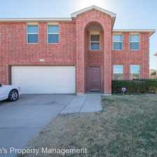 Rental info for 5112 Blue Quartz Rd in the Fort Worth area