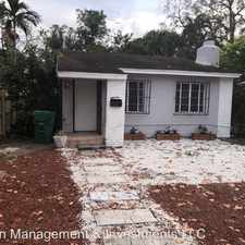 Rental info for 74 NW 68 Terrace in the Little Haiti area