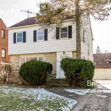 Rental info for 3630 Berkeley Road in the Cleveland area