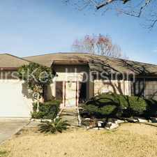 Rental info for 340 Forest Hills Drive in the League City area