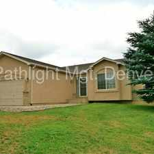 Rental info for 17095 Pawnee Valley Trail, Monument, CO 80132