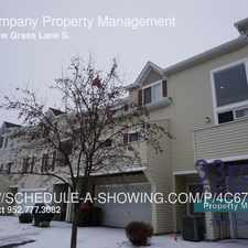 Rental info for 6840 Meadow Grass Lane S. in the Cottage Grove area