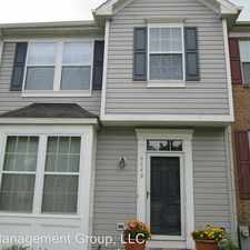 Rental info for 9349 Owings Choice Ct