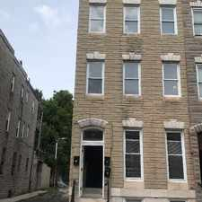 Rental info for 718 Dolphin Street 1 in the Baltimore area