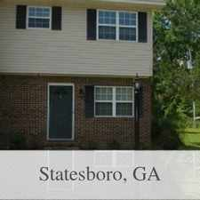 Rental info for Convenient Location 2 Bed 1.50 Bath For Rent. P... in the Statesboro area