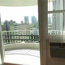 Rental info for Rent Reduced 2 Bed 2 Bath 1 Parking Floor Unit ... in the Honolulu area