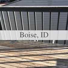 Rental info for Boise - 2bd/1bth 812sqft Apartment For Rent in the Boise City area