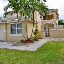 Rental info for 15464 Southwest 48th Street in the Kendall West area