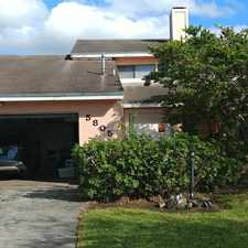 Rental info for 5805 Southwest 146th Court in the Kendall West area