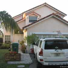 Rental info for 5316 Southwest 153rd Court in the Kendall West area