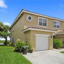 Rental info for 301 Southwest 120th Avenue in the Pembroke Pines area