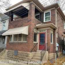Rental info for 708 Pitt Street in the Pittsburgh area