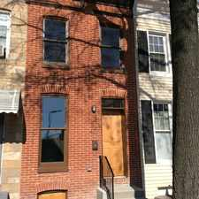 Rental info for 438 Federal Street in the Baltimore area