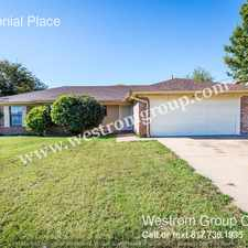 Rental info for 416 Colonial Place in the Fort Worth area