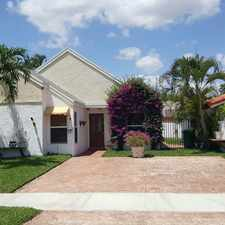 Rental info for 13665 Southwest 99th Street in the The Crossings area