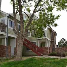 Rental info for 982 S. Dearborn Way #17 Sable Cove 1 Bed Condo in the Aurora area