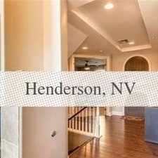 Rental info for Townhouse For Rent In Henderson.