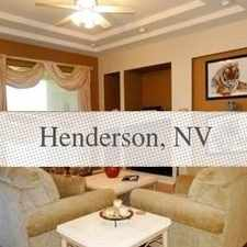 Rental info for House For Rent In Henderson. Washer/Dryer Hookups! in the Henderson area