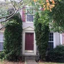 Rental info for Townhouse For Rent In Owings Mills. in the Owings Mills area