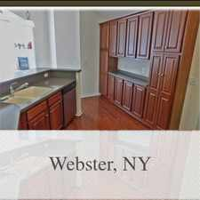 Rental info for Rarely Available Luxurious Townhouse In Webster...