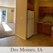 Rental info for 2 Bedrooms - In A Great Area. in the Des Moines area
