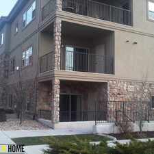 Rental info for Modern Sugarhouse Condo in the Salt Lake City area