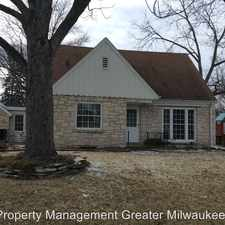 Rental info for 4545 N. 106th St. in the Milwaukee area