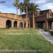 Rental info for 1128 Via Canale Drive in the Henderson area