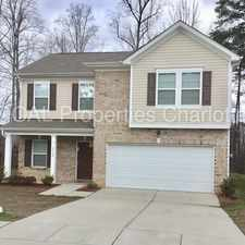 Rental info for Gorgeous 4 Bed Home!! in the Charlotte area