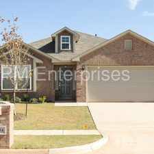 Rental info for GORGEOUS BRAND NEW HOME! in the Oklahoma City area