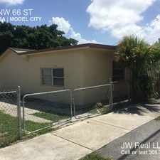 Rental info for 1114 NW 66 ST in the Miami area